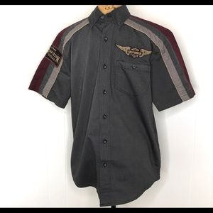 Harley Davidson Genuine Button Up Shirt-S/S-Small